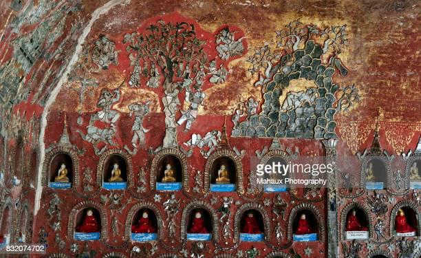 Shwe Yaunghwe Kyaung monastery in Nyaungshwe (Inle Lake).
