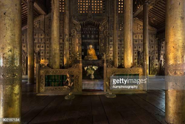 Shwenandaw Monastery, Mandalay , Myanmar