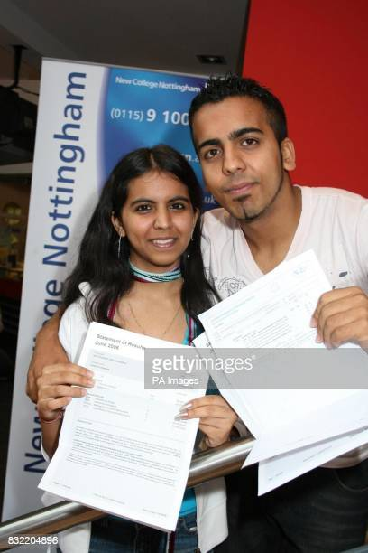 Shweta and Sahil Khanna celebrate top ALevel grades just four years after fleeing their home in the wartorn Middle East