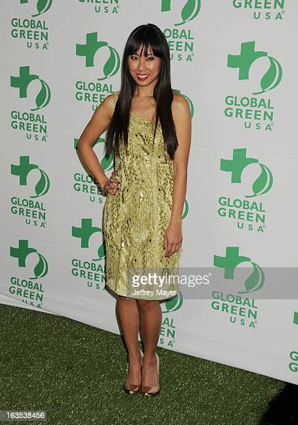 Shy arrives at Global Green USA's 10th Annual PreOscar party at Avalon on February 20 2013 in Hollywood California
