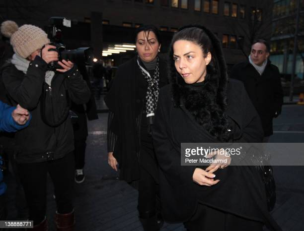 Shy Dizaei wife of Ali Dizaei leaves Southwark Crown Court on February 13 2012 in London England Former Metropolitan Police commander Mr Dizaei has...