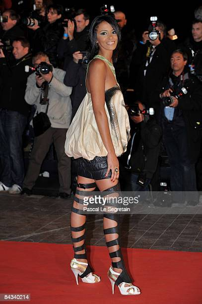 Shy M attends the NRJ Music Awards 2009 held at the Palais des Festivals on January 17 2009 in Cannes France