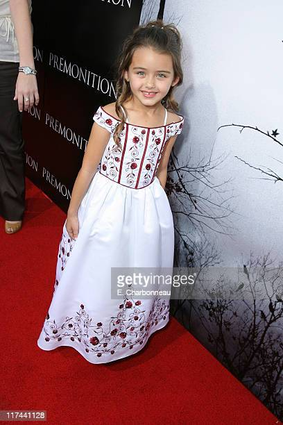 Shyann McClure during Tri Star Pictures Presents the World Premiere of Premonition at Cinerama Dome in Hollywood California United States