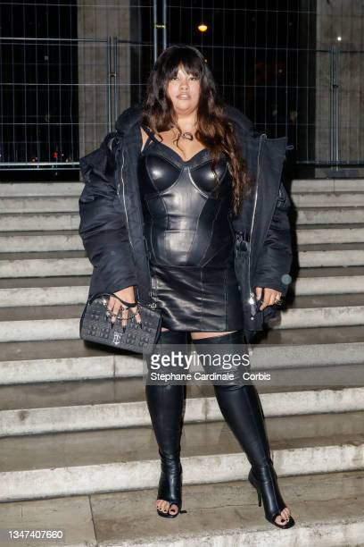 Shygirl attends the Burberry Closing Party For Anne Imhof's Exhibition 'Natures Mortes' at Palais De Tokyo on October 18, 2021 in Paris, France.