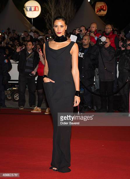 Shy'm attends the 15th NRJ Music Awards at Palais des Festivals on December 14 2013 in Cannes France