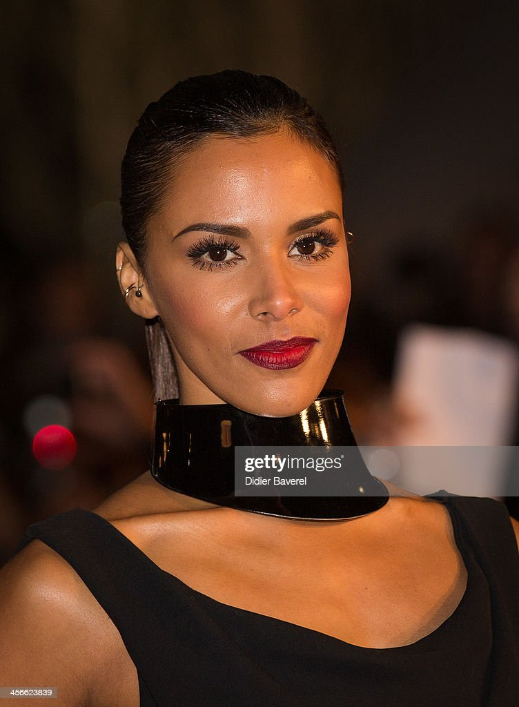 Shy'm attends the 15th NRJ Music Awards at Palais des Festivals on December 14, 2013 in Cannes, France.