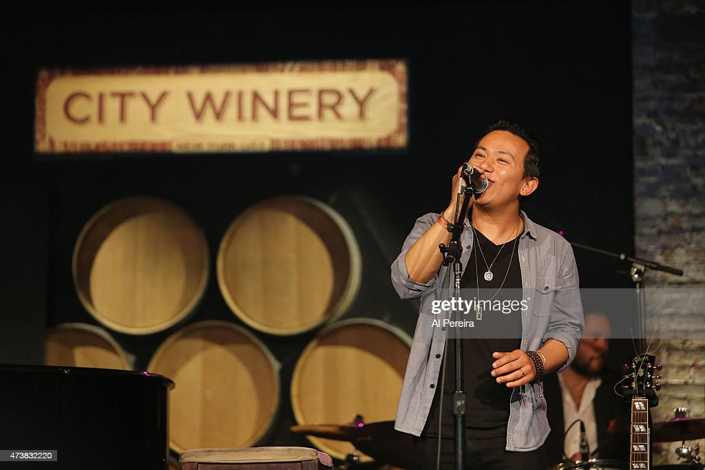 Shyman Nepali performs at the Everest Awakening: A Prayer for Nepal and Beyond Benefit show at City Winery on May 17, 2015 in New York City.