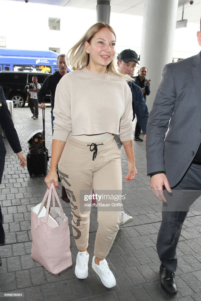 Celebrity Sightings In Los Angeles - March 22, 2017 : News Photo