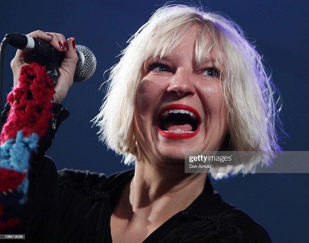 ARIA Awards Concert Series 2010 - Sia : Nachrichtenfoto