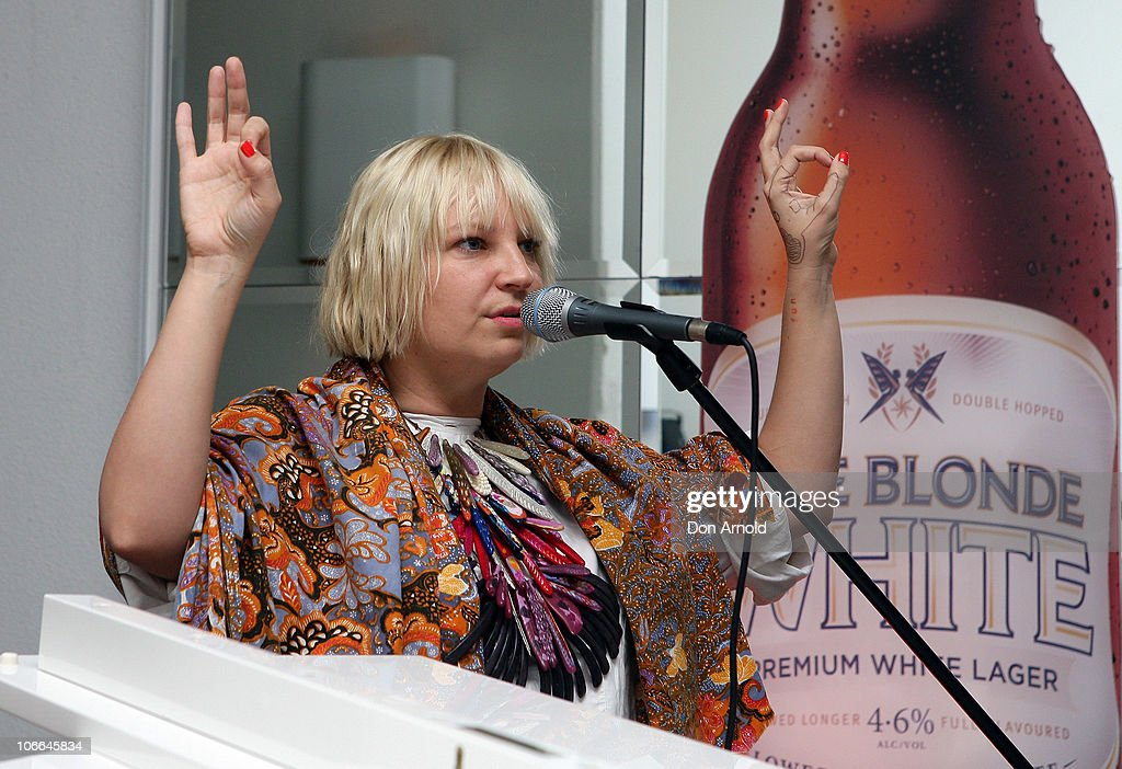 Sia Performs In Sydney : News Photo