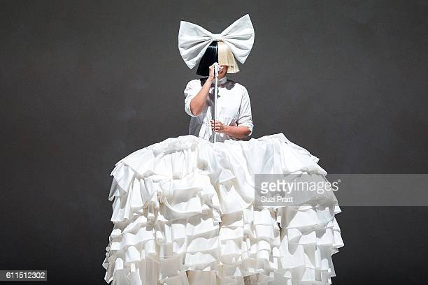 Sia performs at KeyArena on September 29 2016 in Seattle Washington