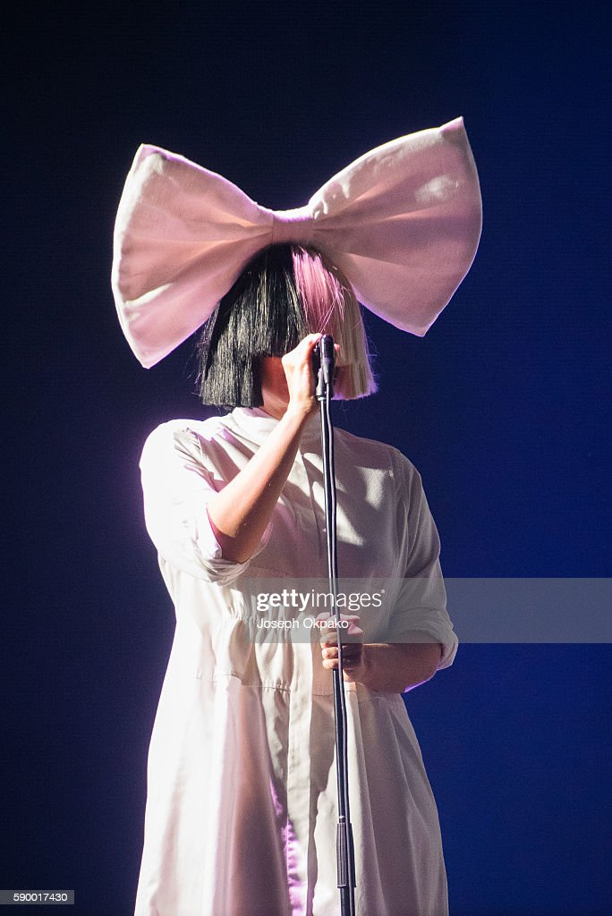 Sia performs on Day 6 at the Sziget Festival 2016 on August 15, 2016 in Budapest, Hungary.