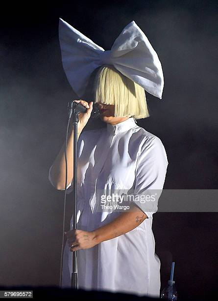 Sia performs onstage at the 2016 Panorama NYC Festival Day 3 at Randall's Island on July 24 2016 in New York City