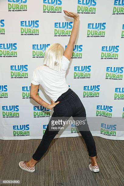 Sia visits The Elvis Duran Z100 Morning Show at Z100 Studio on June 17 2014 in New York City