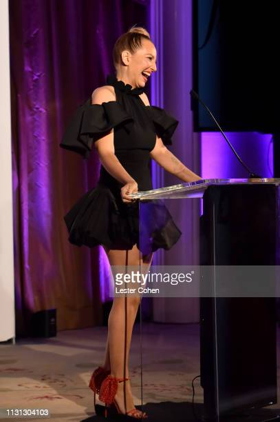 Sia with FIJI Water at the 5th Annual Fashion Los Angeles Awards on March 17 2019 in Los Angeles California