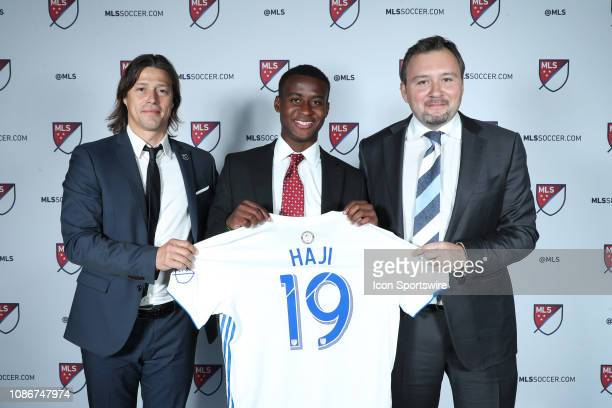 Siad Haji was taken with the second overall pick by the San Jose Earthquakes With head coach Matias Almeyda and general manager Jesse Fioranelli...