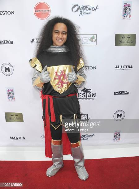 Siaki Sii arrives for Party Scene The Meet Up held at Starwest Studios on October 13 2018 in Burbank California