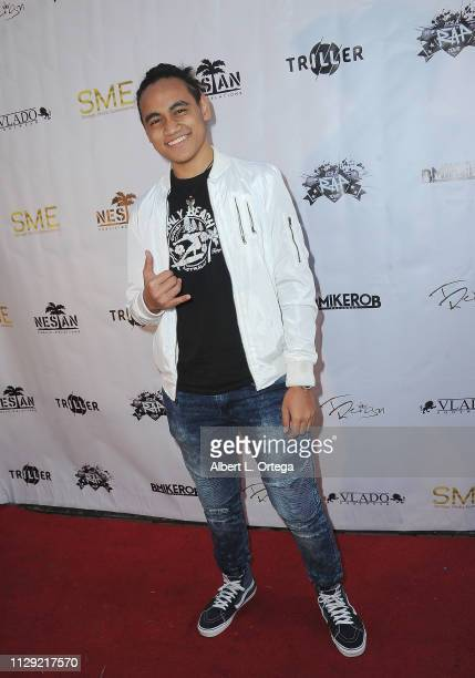 "Siaki Sii arrives for the Viewing Of Final 3 Of ""The Rap Game"" held at Station1640 on March 7, 2019 in Hollywood, California."