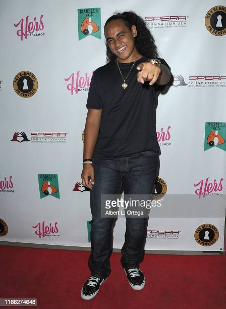 Siaki Sii attends Isabella Leon's 12th Birthday Party held at Montrose Bowl on September 5, 2019 in Montrose, California.
