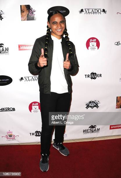 Siaki Sii attends Season 5 Premiere For Lifetime's The Rap Game Hosted By Tyeler Reign held at CTRL Collective on January 10 2019 in Playa Vista...