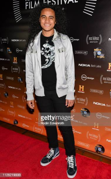 Siaki Sii attends the 5th Annual Raw Science Film Festival at The Theatre at Ace Hotel on January 26 2019 in Los Angeles California