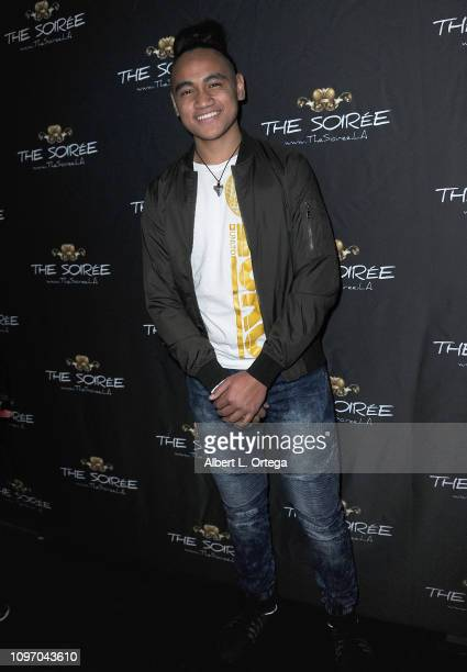 Siaki Sii attends the 5th Annual The Soiree During GRAMMY Weekend held at The Roxy Theatre on February 9 2019 in West Hollywood California