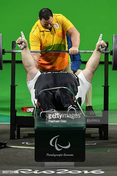 paralympics iran powerlifting stock photos and pictures getty images