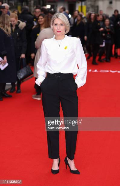 Sian Brooke attends the Radioactive UK Premiere at The Curzon Mayfair on March 08 2020 in London England