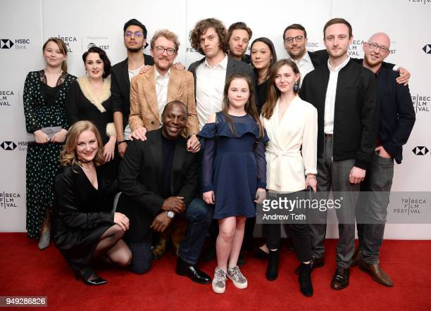 Sian Clarke Simon Lord Cyril Nri Jemima Newman James Gardner Nikolas Holttum Liv Hill and Tomos Eames and cast attend a screening for 'Jellyfish'...
