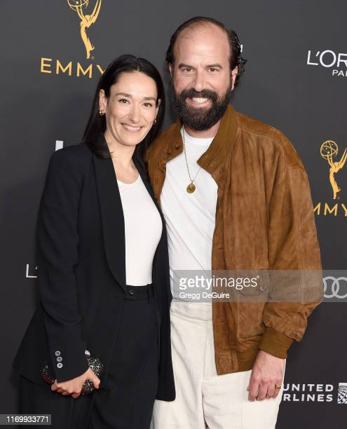 Sian Clifford and Brett Gelman arrive as the Television Academy Honors Emmy Nominated Performers at Wallis Annenberg Center for the Performing Arts...
