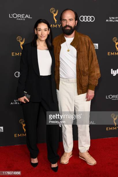 Sian Clifford and Brett Gelman attend the Television Academy honors Emmy nominated performers at Wallis Annenberg Center for the Performing Arts on...
