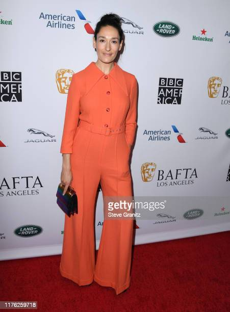 Sian Clifford arrives at the BAFTA Los Angeles BBC America TV Tea Party 2019 at The Beverly Hilton Hotel on September 21 2019 in Beverly Hills...