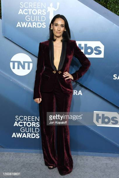 Sian Clifford attends the 26th Annual Screen Actors Guild Awards at The Shrine Auditorium on January 19 2020 in Los Angeles California