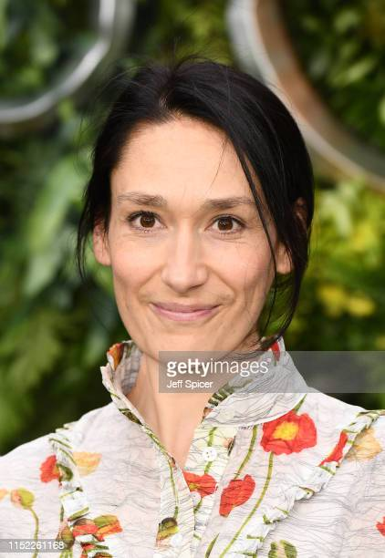 Sian Clifford attends the Global premiere of Amazon Original Good Omens at Odeon Luxe Leicester Square on May 28 2019 in London England