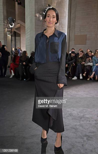 Sian Clifford attends the Roland Mouret show during London Fashion Week February 2020 at The National Theatre on February 16 2020 in London England