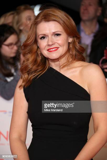 Sian Gibson attends the National Television Awards 2018 at The O2 Arena on January 23 2018 in London England
