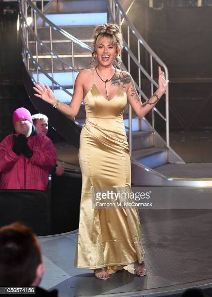 Sian Hamshaw is evicted from the Big Brother House at Elstree Studios on November 2 2018 in Borehamwood England