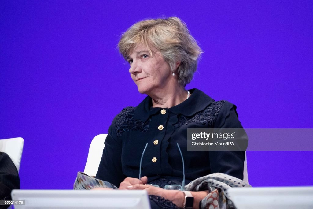 Sian Herbert Jones, Board Member of AirLiquide, attends the Groups Annual General Meeting in the presence of shareholders on May 16, 2018 in Paris, France. The French industrial group specializing in industrial gases reported this week an acceleration in its growth beyond analysts expectations.