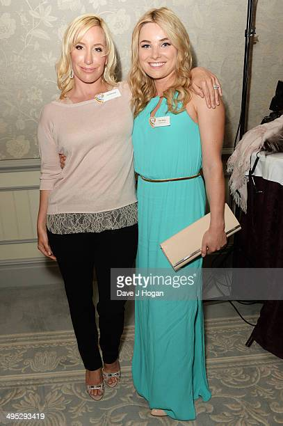 Sian Welby and Joy Desmond attend the Health Lottery Tea Party at The Savoy on June 2 2014 in London England