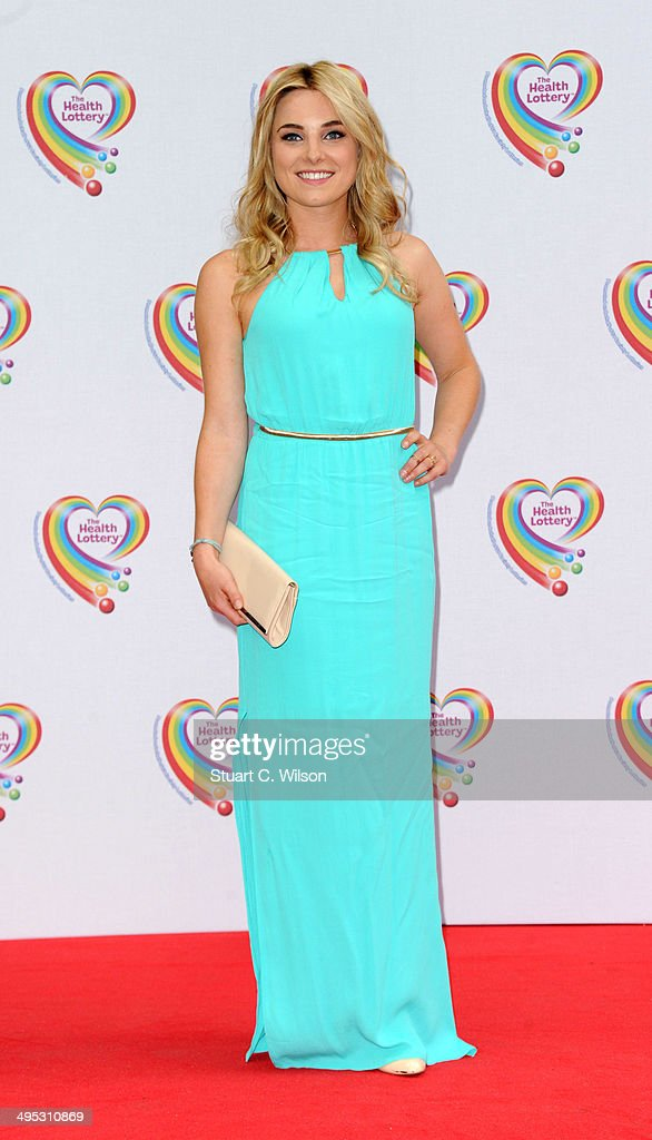 Sian Welby attends the Health Lottery tea party at The Savoy Hotel on June 2, 2014 in London, England.