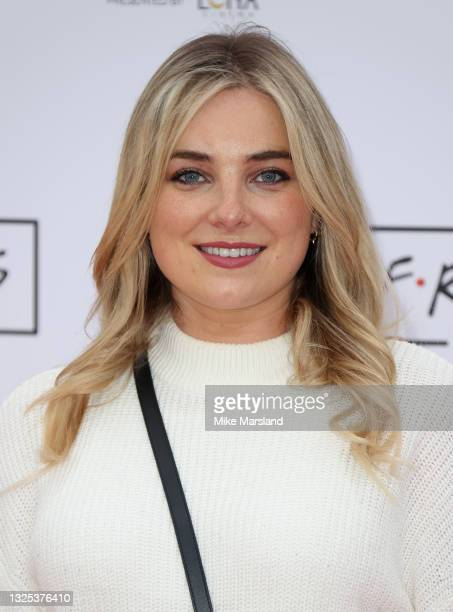Sian Welby during Comedy Central's FriendsFest: London Photocall at Clapham Common on June 24, 2021 in London, England.