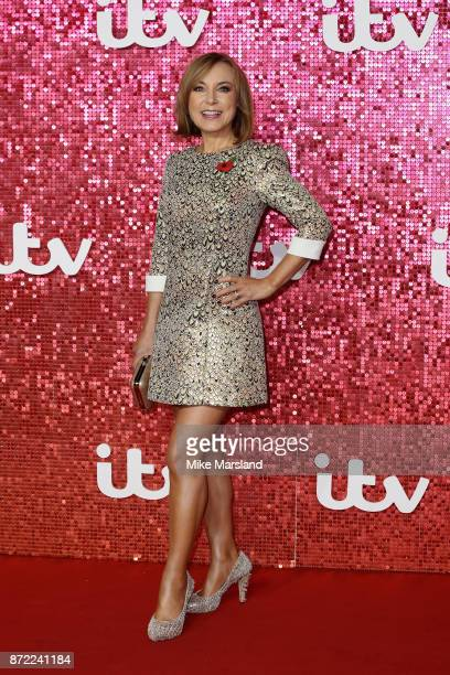 Sian Williams arrives at the ITV Gala held at the London Palladium on November 9 2017 in London England