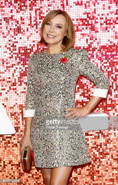Sian Williams arriving at the ITV Gala held at the London Palladium on November 9 2017 in London England