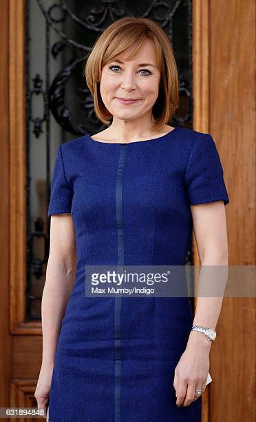 Sian Williams attends a briefing given by The Duke Duchess of Cambridge and Prince Harry to outline the next phase of Heads Together ahead of the...