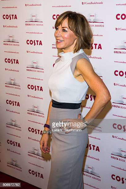 Sian Williams attends Costa Book Of The Year Awards on January 26 2016 in London England