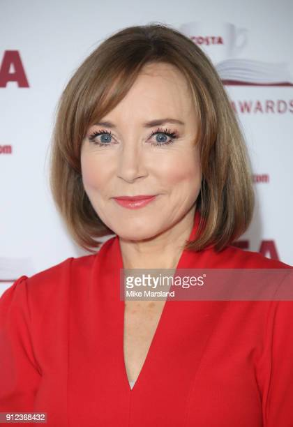 Sian Williams attends the 'Costa Book Awards' 2018 at Quaglinoâ™s on January 30 2018 in London Englan