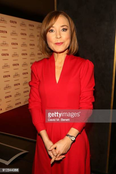 Sian Williams attends the Costa Book Awards at Quaglino's on January 30 2018 in London England