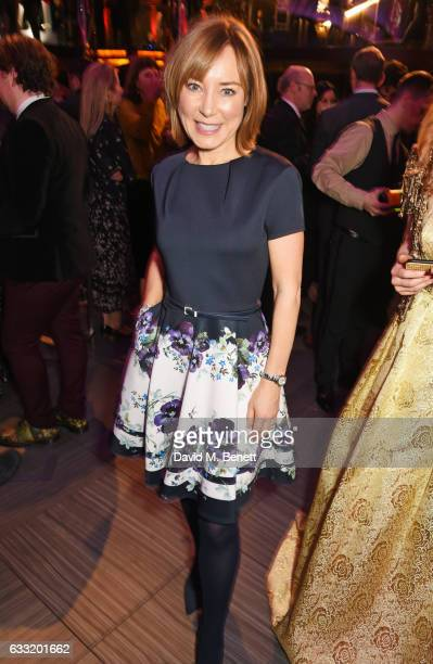 Sian Williams attends the Costa Book Of The Year Award 2016 at Quaglino's on January 31 2017 in London United Kingdom