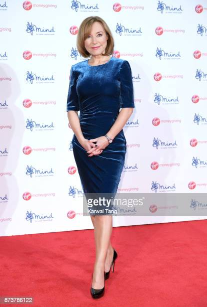 Sian Williams attends the Virgin Money Giving Mind Media Awards at Odeon Leicester Square on November 13 2017 in London England