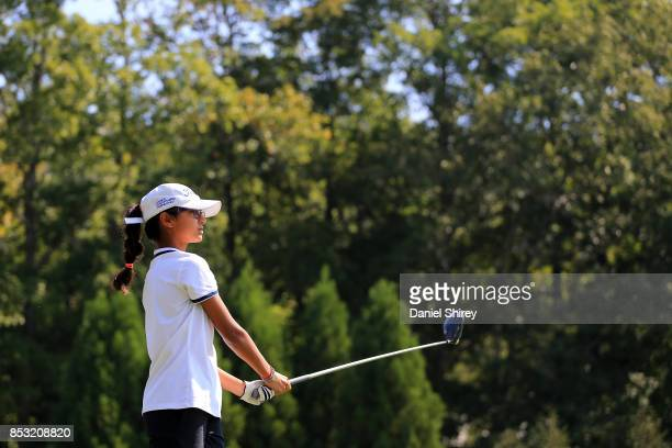 Siara Patel during the Drive Chip and Putt Championship at The Honors Course on September 24 2017 in Ooltewah Tennessee
